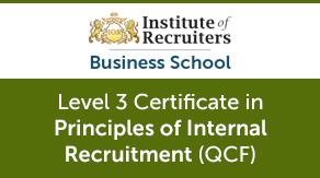 Internal In-House Recruitment Qualification Certificate